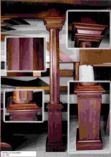 BERTOLINI GLOBAL F.L.SARNIG - Colonne di legno lamellare